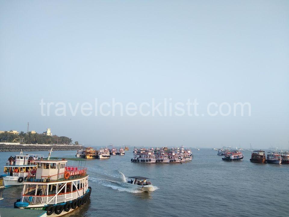 Ferry rides at Gateway of India.Mumbai