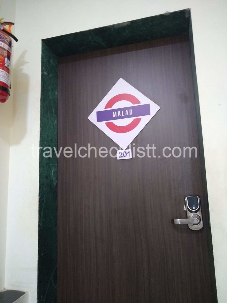 Zostel rooms with Mumbai station names