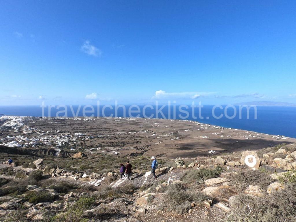 Hiking Trail,Fira to Oia