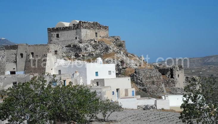 Akrotiri castle, Santorini