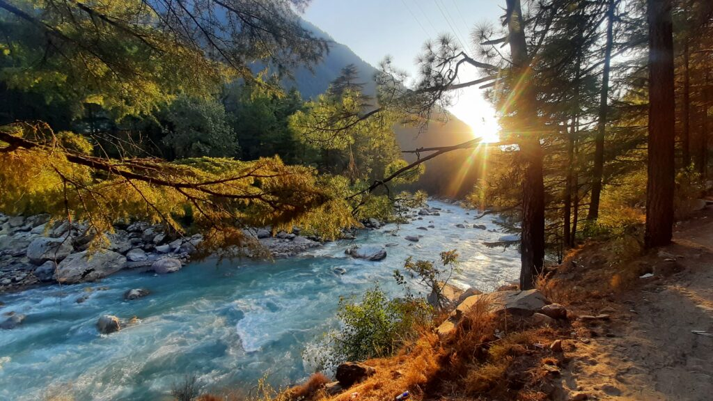 Parvati River, Kasol