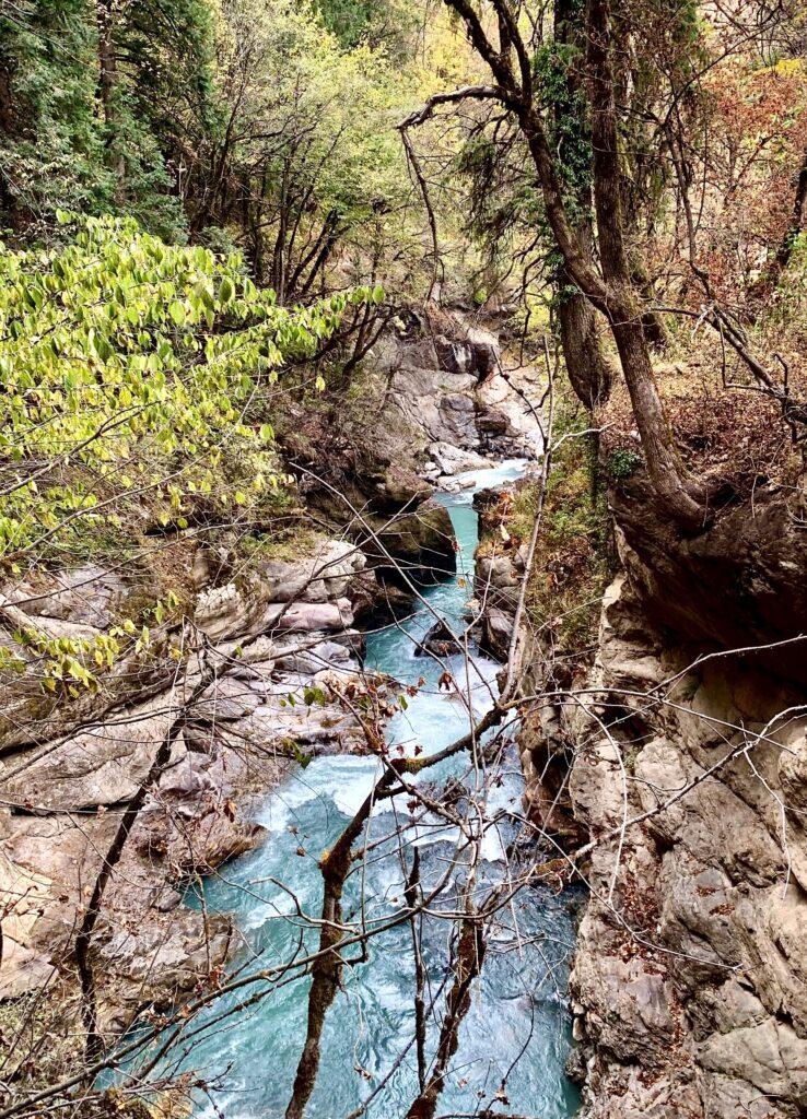 Waterfall enroute Kheerganga