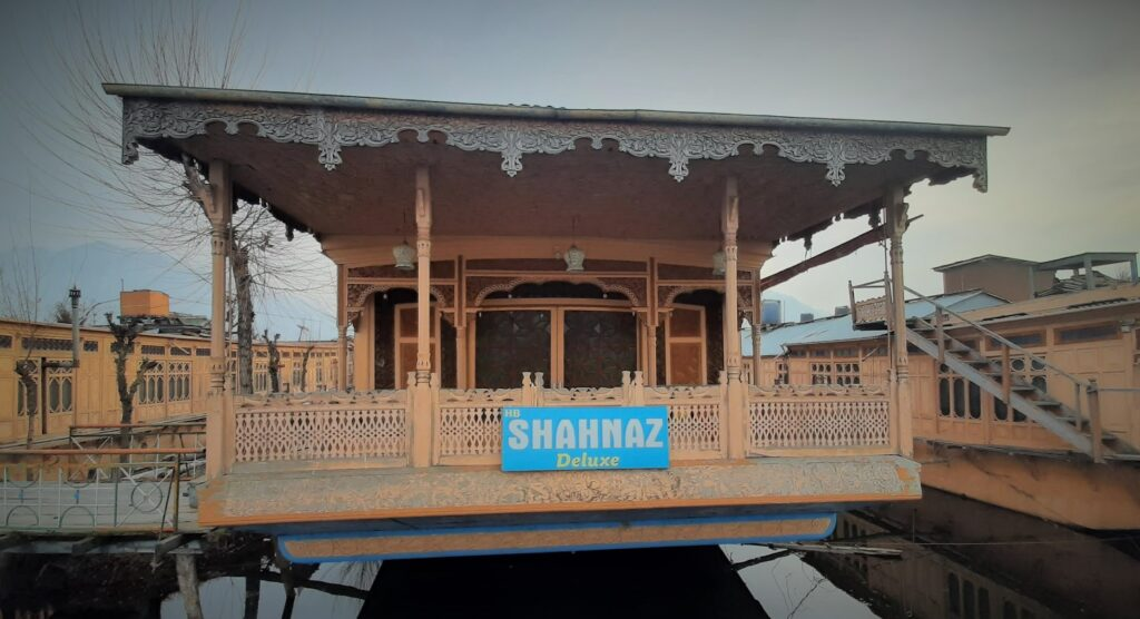 Our houseboat stay at Shahnaz