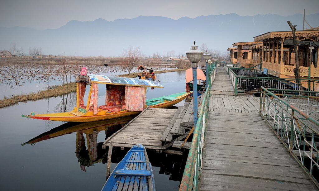 Entrance to houseboat