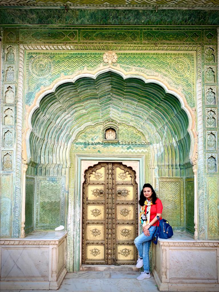 Leheriya Gate, Pritam Nivas Chowk,City Palace Jaipur