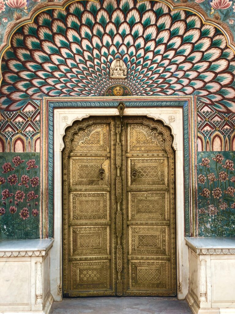 Lotus Gate, Pritam Nivas Chowk, City palace Jaipur